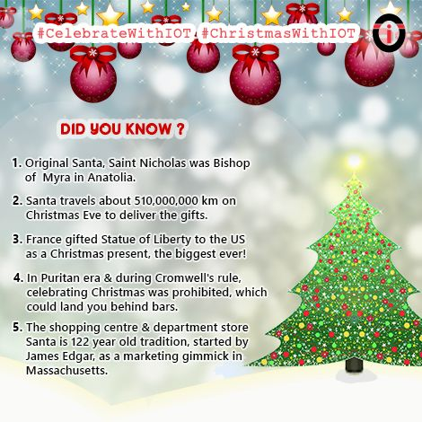 Christmas has some fascinating facts & interesting WoW moments hidden behind its glorious history! Here is a list of some alluring facts that we bet, you didn't know about!