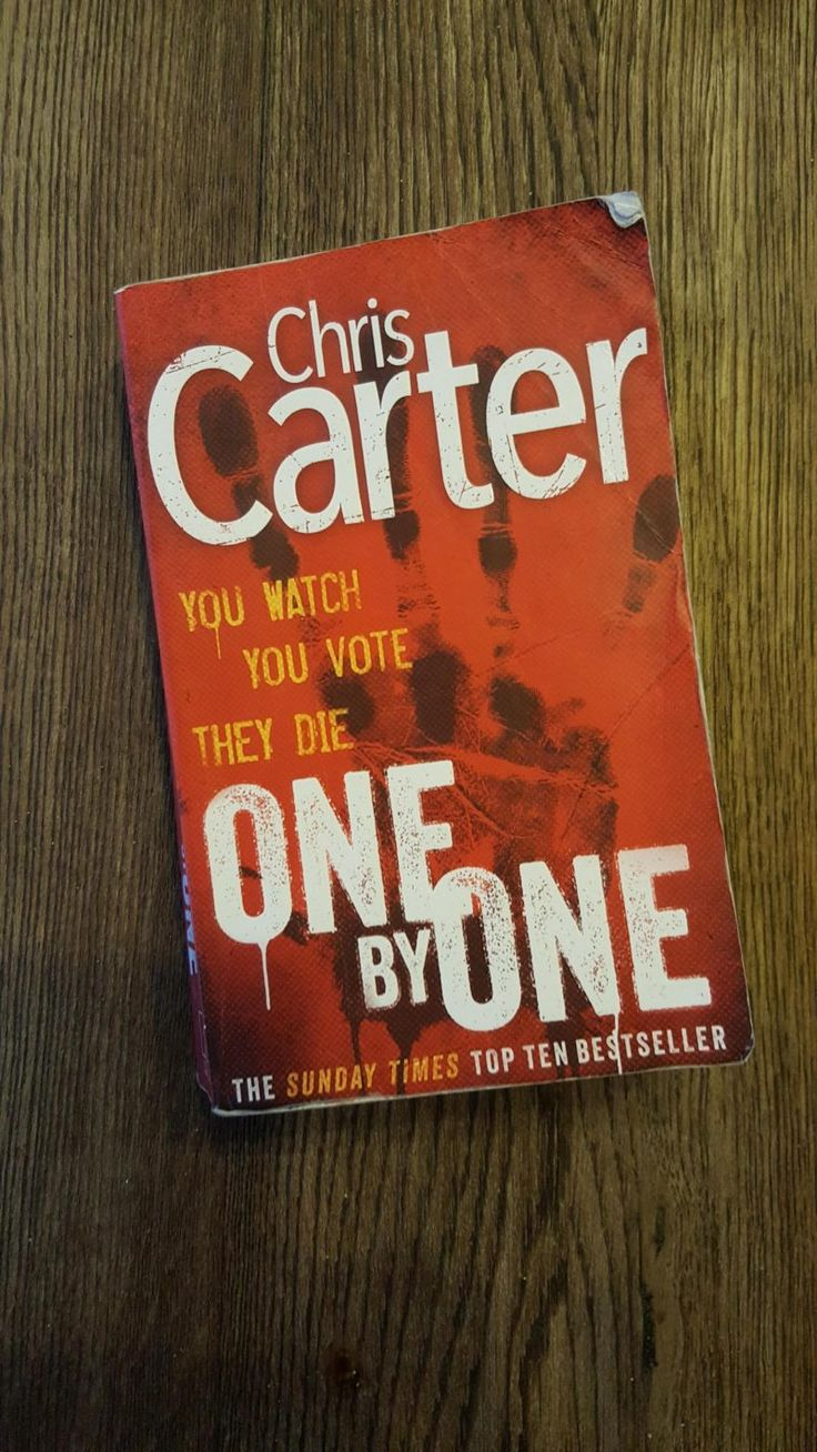 Book Review – One by One by Chris Carter