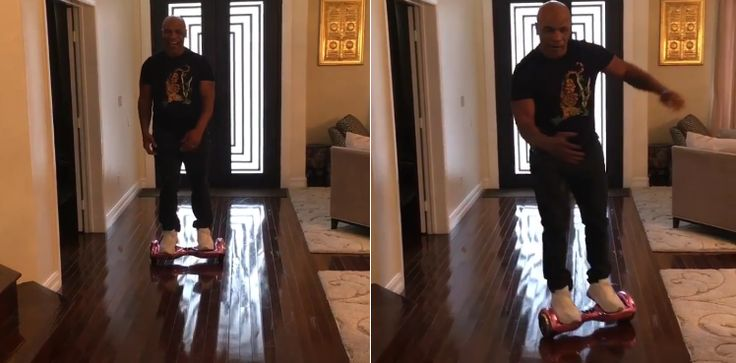 Hoverboards are the worst. If they're not blowing up, they're leading Soulja Boy to financial ruin. Nevertheless, many a sucker got one of the transportation devices for Christmas, including Mike Tyson. The former champ paid the price. #hoverboard #knockout #MikeTysonBreaksBack #imtoooldforthisshit @getcyboard A video posted by Mike Tyson (@miketyson) on Dec 29, 2015 at 10:35am …