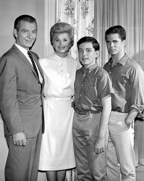 Leave it to Beaver: Classic family in the 1950's (Ward, June, Beaver, Wally Cleaver)