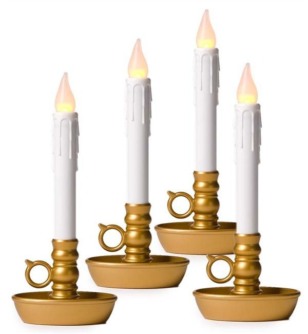 http://www.plowhearth.com/4-pack-battery-operated-single-window-led-window-candles.htm?aff=6443 #ledchristmascandles