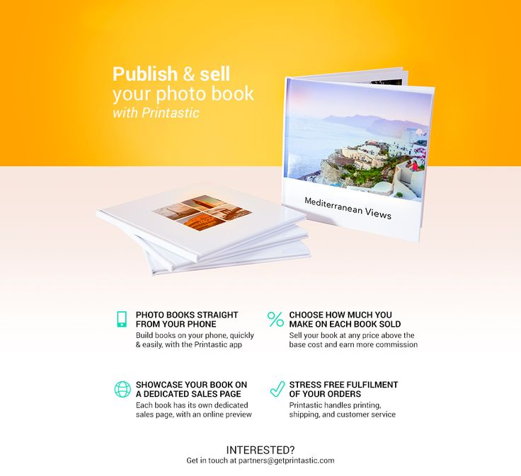 Sell your photo book