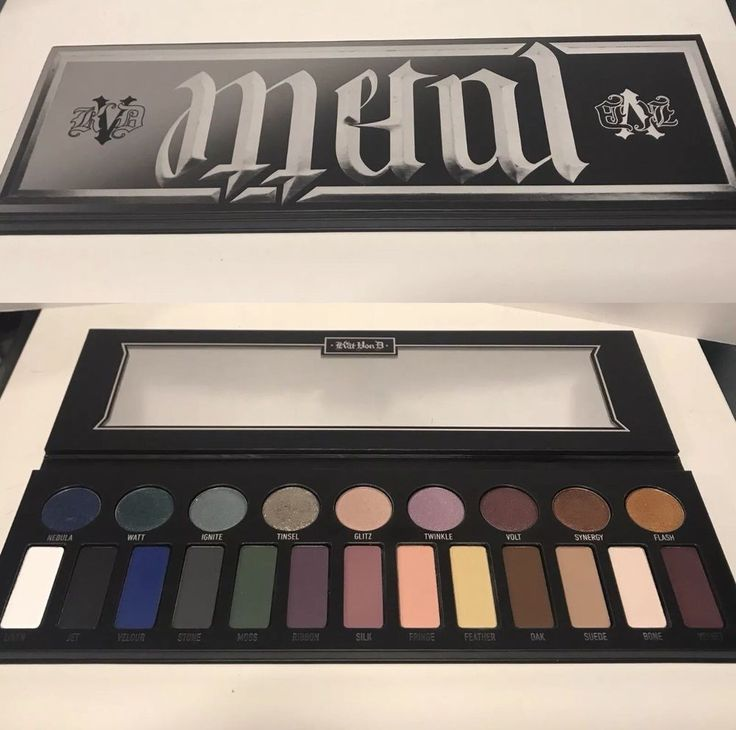 **Kat Von D ~ Metal Matte Eyeshadow Palette Discontinued Limited Edition **  | eBay