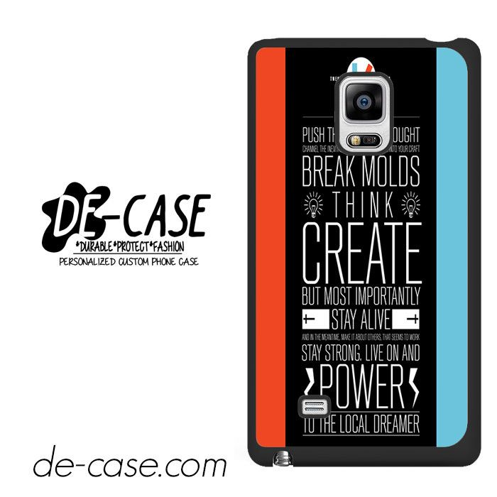 21 Pilots Band Quotes DEAL-13 Samsung Phonecase Cover For Samsung Galaxy Note Edge