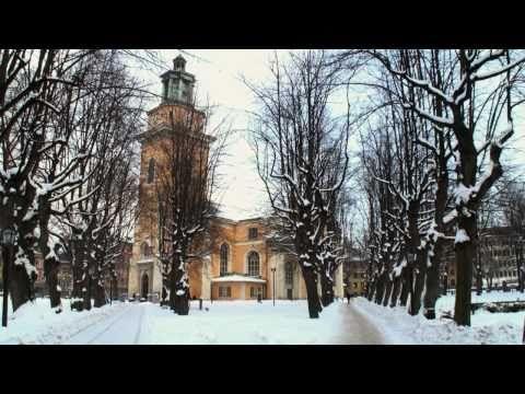 Estocolmo en Suecia: Navidad e invierno