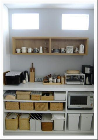 キッチンの収納 3 ~背面オープン収納棚~|うつりゆく日々... |Ameba (アメーバ)