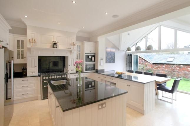Open Plan Kitchen Diner With Direct Access To Back Garden