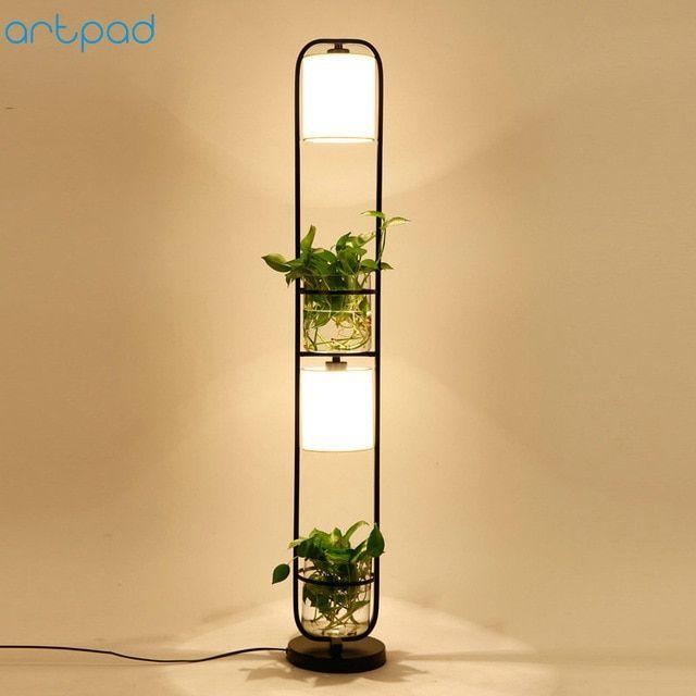 Decoration Plant Flower Floor Lamp