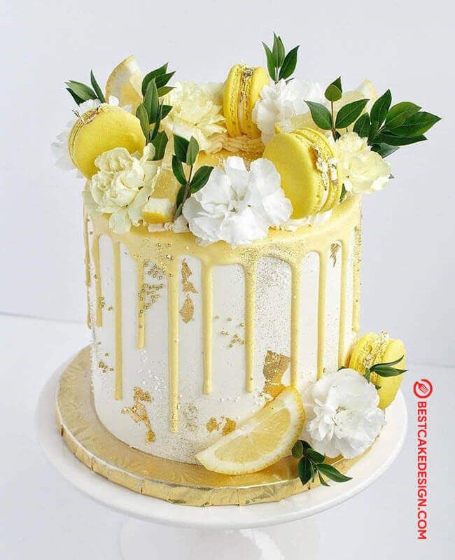50 Lemon Cake Design Cake Idea March 2020 Lemon Birthday