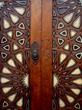 What a door.