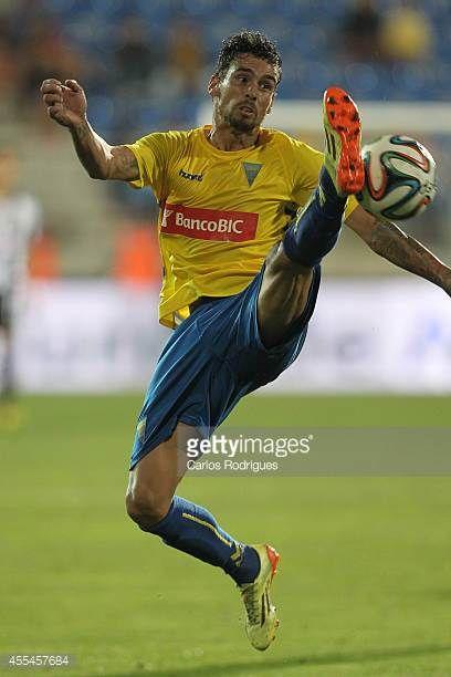Estoril's defender Emidio Rafael during the match between Estoril and Nacional at Estadio Antonio Coimbra da Mota on September 14 2014 in Estoril...