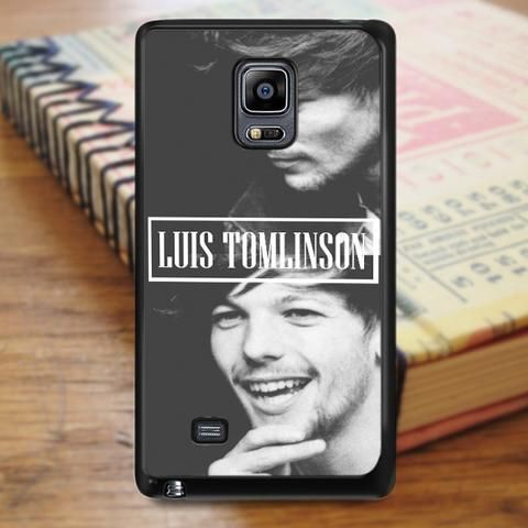 Louis Tomlinson Smiley Singer One Direction Samsung Galaxy Note Edge Case