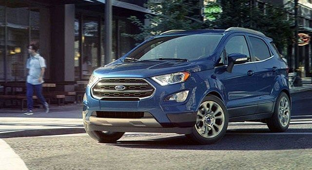 2019 Ford Ecosport New Colors For Subcompact Suv Ford Ecosport Subcompact Suv 2019 Ford