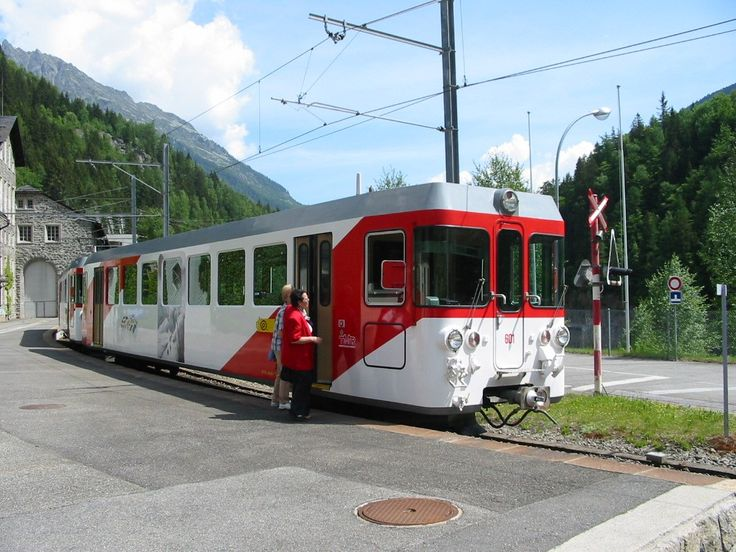 Chemin de fer Martigny - Châtelard (MC) / Transports de Martigny et Régions (TMR), BDeh 4/4 5, Le Châtelard (VS)