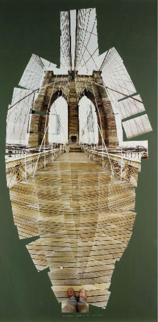 Photomontage - Hockney