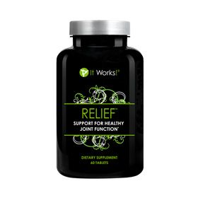 Relief™ | It Works - Tired of aches and pains in your joints? Relief promotes healthy, flexible joints with its highly effective Glucosamine and Chondroitin Sulfate Formula.