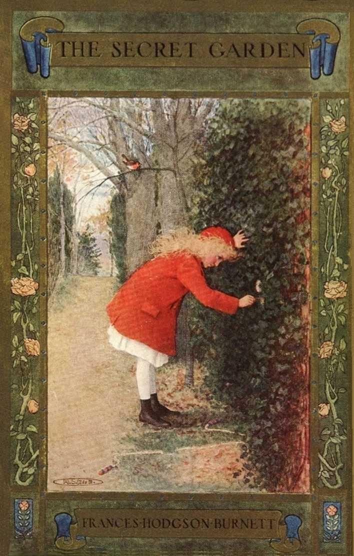 The Secret GardenMost Popular, Growing Up, Childhood Book, France Hodgson, Hodgson Burnett, Book Covers, Favorite Book, The Secret Gardens, Thesecretgarden