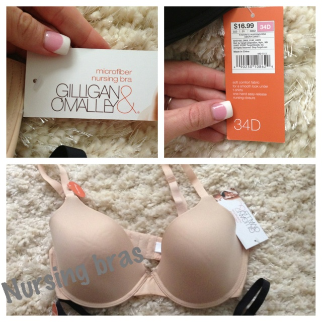Target nursing bras $16.99 Who says you cant wear sexy bras while breast feeding?!?