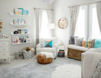 Catherine and Sean Lowe's nursery for their baby boy is as cool as they are! The couple-who met on The Bachelor-and a design savvy team decorated the space!