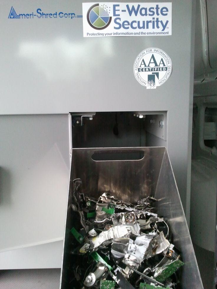 Hard drive destruction - Complying with HIPAA regulations http://ewastesecurity.com/hipaa-compliant-hard-drive-destruction/