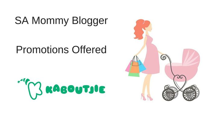 Since closing my online store and only focusing on being an SA Mommy Blogger I have had a lot of enquiries from businesses asking what promotions I will be offering.   I have put together some promotional packages together. Check my website for more info http://kaboutjie.com