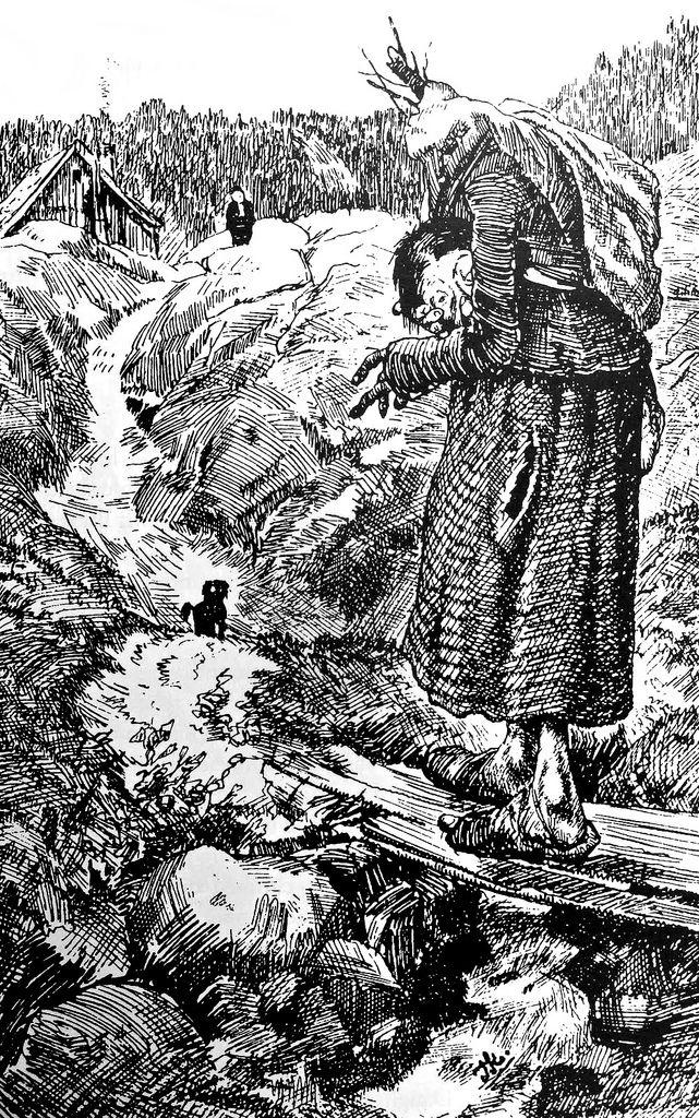 Theodor Kittelsen - From 'Buttercup, 1882