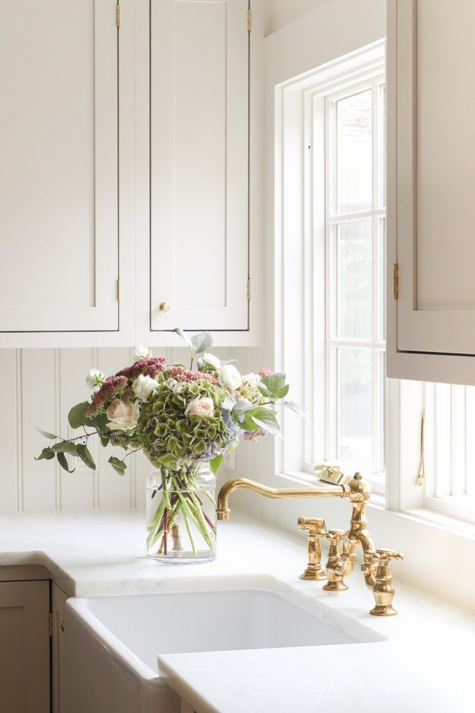 The Next Step In Our Kitchen Remodel Series An Unlacquered Brass