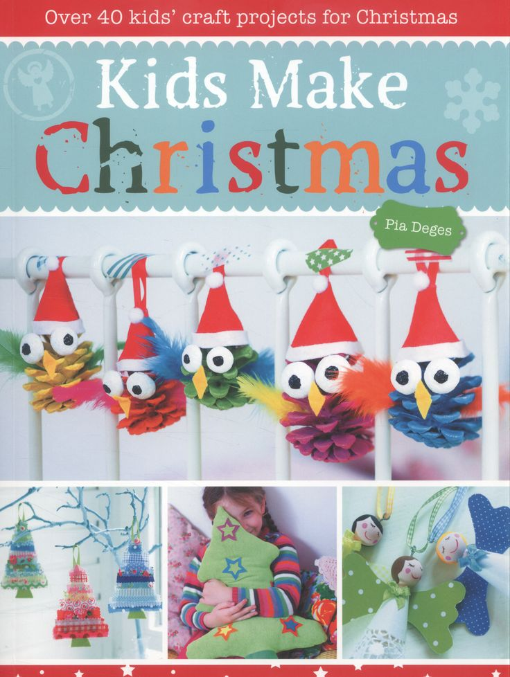 Pia Deges has used a rainbow of colours to create this fun collection of 40 unique Christmas projects. From tree decorations and games to pretty gifts and delicious cookies, the projects cover a wide range of different crafts. Whether felted, baked, sewn or stuck, there is something for everyone! It caters for all skill levels and ages.