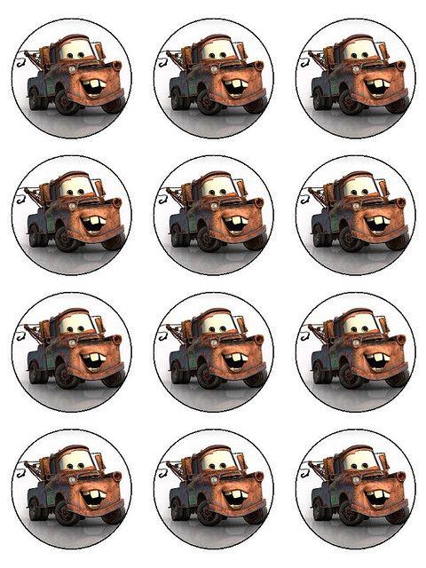 Mater Cupcake Topper Printables...