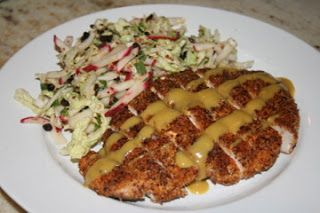 Hazelnut Crusted Chicken