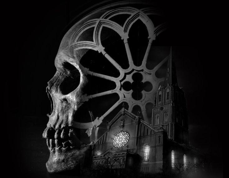 мистика черепа картинки называемая тихим