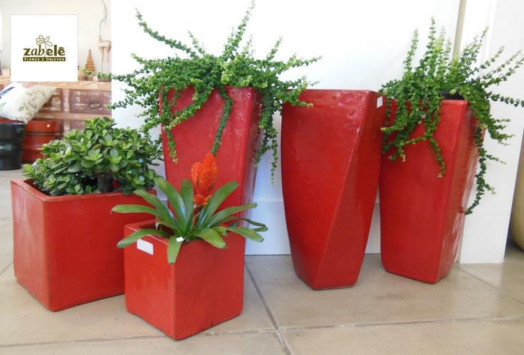 Vasos Vietnamitas vermelhos para embelezar ambientes internos e externos!