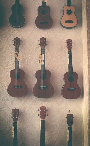 Few are the things I love more than the ukulele. Bread is one of them, so are mystery novels.