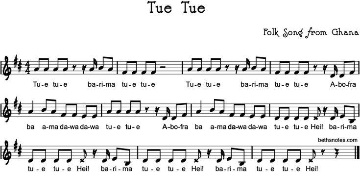 Tue Tue Beth S Notes In 2021 Folk Song Songs Lyrics