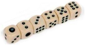 Arsstar Кости игральные пластиковые 10мм  — 19 руб.  —  Игральные кости, наверное, держал в руках каждый человек в мире. Если не во взрослой жизни, то в детстве обязательно, играя в настольные игры. Предлагаем вам купить у нас Кости игральные пластиковые 10мм - легкие, с длиной грани 1 см и весом 1 г. Они всегда помогут скрасить вам досуг. Благодаря маленькому размеру всегда найдется место в вашей дорожной сумке для отдыха. Шесть кубиков с четкими значениями, откроют вам возможность играть в…