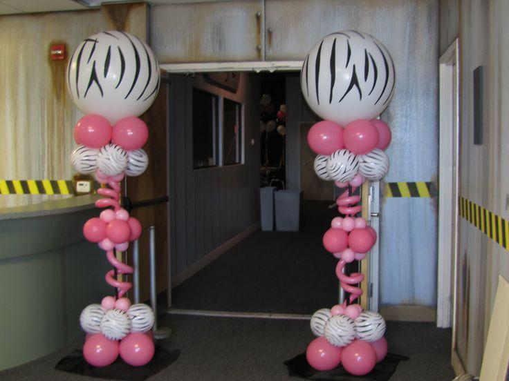 SWEET 16 PARTY DECORATIONS PINK AND ZEBRA | ... decor and Fabric Designs: Meghans Zebra print sweet 16, Abundant Life