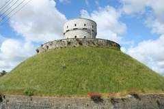 Millmount, Drogheda, Ireland. A Celtic hill fortress, resting place of the God of poetry, crowned later by a Victorian watch tower.