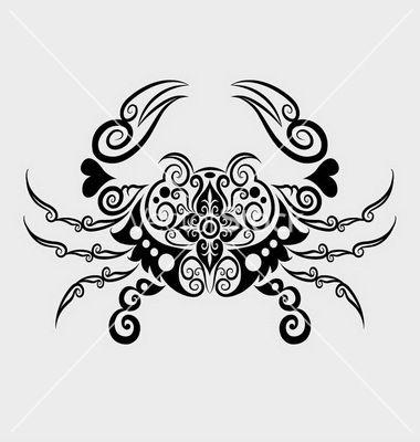 crab-ornament-vector-956254.jpg 380×400 pixels