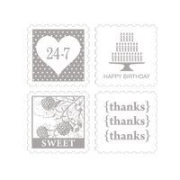 Pretty Postage Clear Mount Stamps