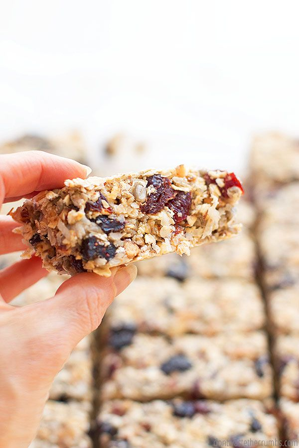 Kitchen Sink Homemade Granola Bar Recipe In 2020 Easy Meals Homemade Granola Homemade Granola Bars