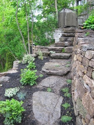 39 Best Images About Stone Retaining Walls On Pinterest