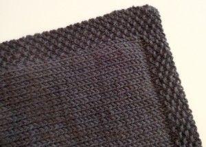 tricoter une couverture pour bebe facile