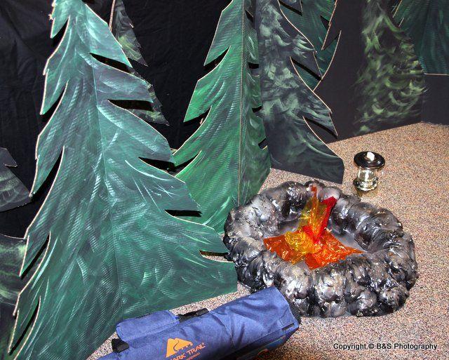 VBS 2012 - Campsite Mountain Campfire - LifeWay's Amazing Wonders Aviation