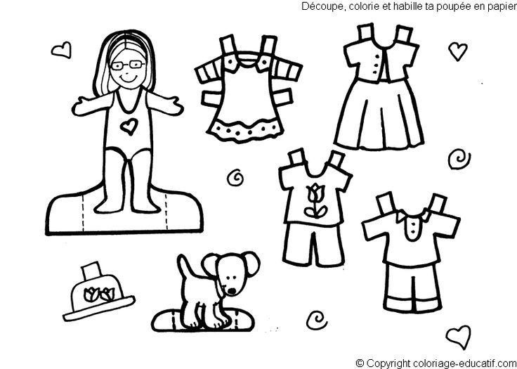 Aankleedpop Kind Kleurplaat 94 Best Images About Aankleedpoppen Paper Dolls On