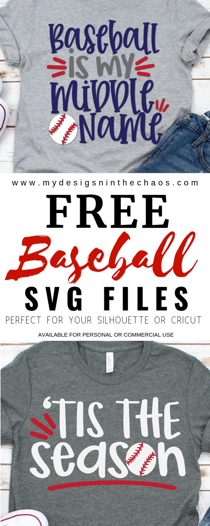 Download Free Baseball SVG Files for Silhouette or Cricut | Cricut ...