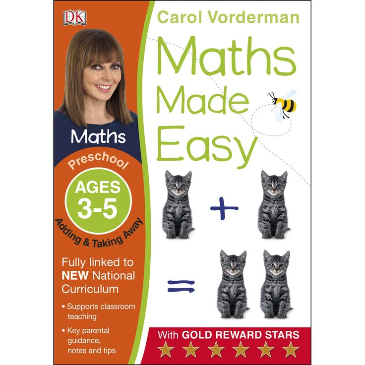 Buy Maths Made Easy Adding and Taking Away - Ages 3-5 by Carol Vorderman online from The Works. Visit now to browse our huge range of products at great prices.