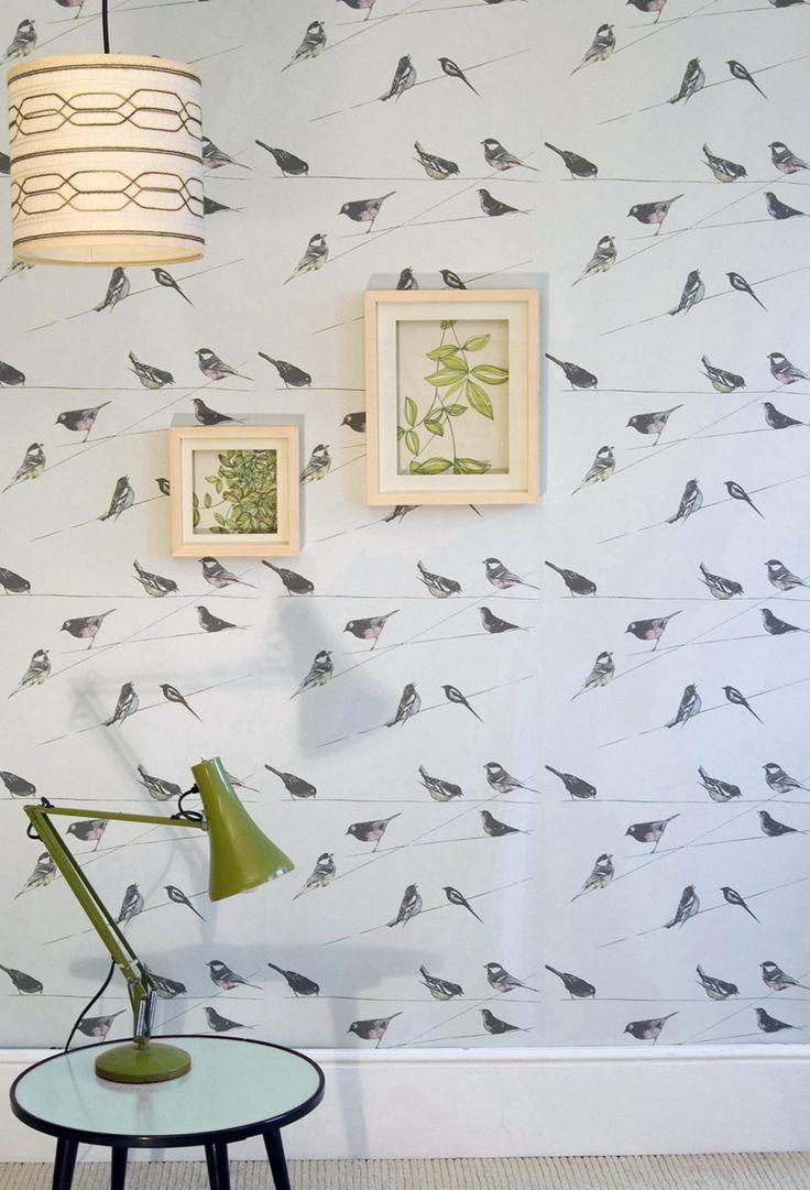 Garden Birds Blue