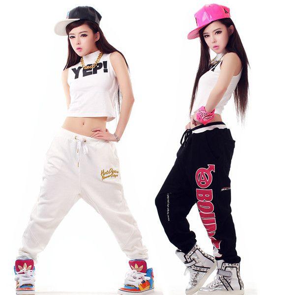 cheap la nueva etapa de moda hip hop hiphop pantalones femeninos ds trajes de baile de