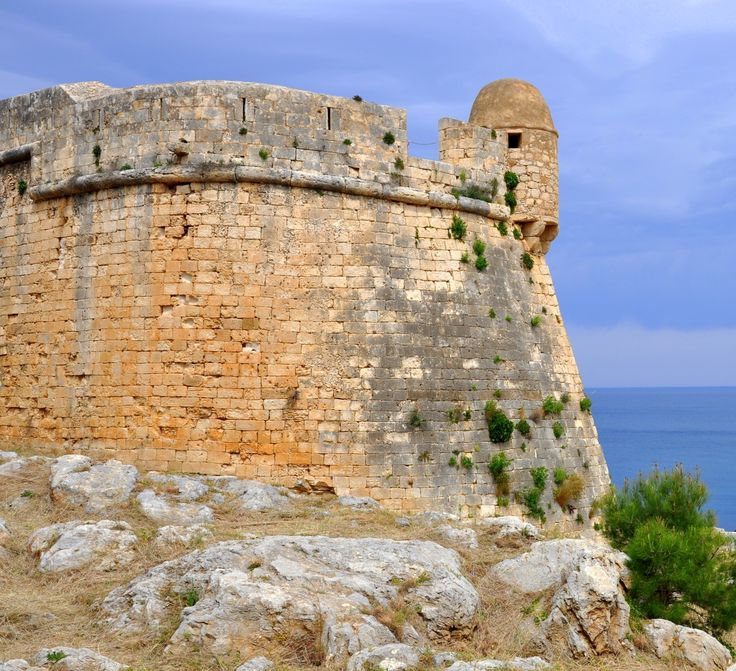 #Fortezza is one of the biggest #fortresses of the #Venetian #Era. The #fort was built in the 1573 on the site of the citadel of ancient #Rithimna and was so large that could host and protect the entire population of #Rethymno #town. The #Erofili #theater, now hosts #cultural #events and #exhibitions every #summer. Fortezza is located on a very high altitute and enjoys unique #views of the #sea and the city.