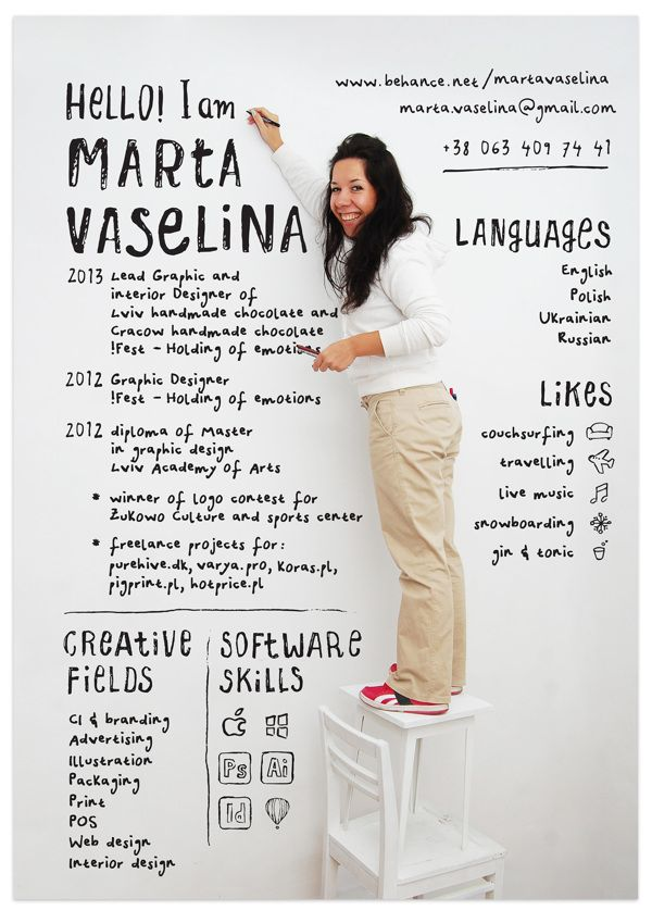 Marta Vaselina Resume